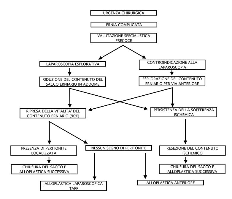 linee guida ehs ernia in urgenza chirurgica