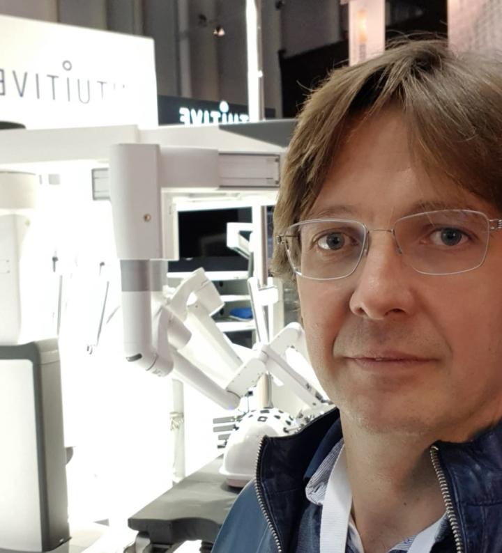 Marco Rovagnati e Robot DaVinci